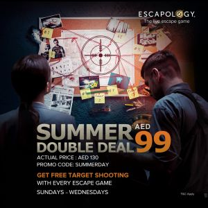 Escapology + Target Shooting