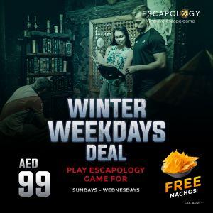Ecsapology Winter Weekdays Deal