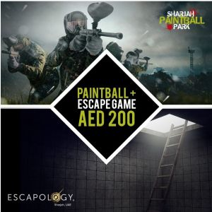 Paintball + Escape Game