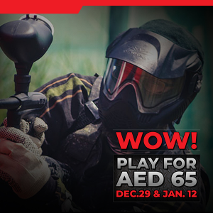 Play Paintball for 65 AED