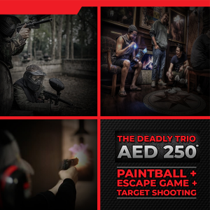 Paintball, Target Shooting with Escape Game