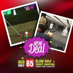 WOW DEAL ! Gun and Golf
